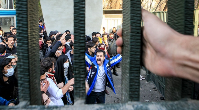 İrandaki protestolarda 200 kişi gözaltına alındı