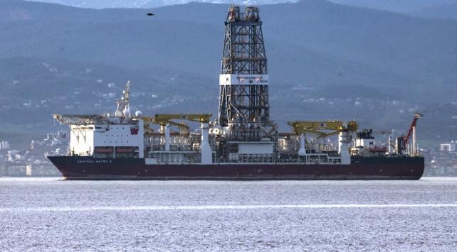 İlk sondaj gemimiz Deepsea Metro-2 Türkiyede