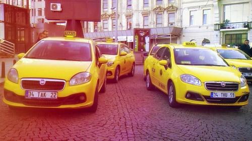 İstanbullu taksicilerin karnesi