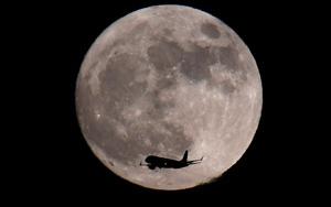 Yeni yılın ilk gününde Süper Ay