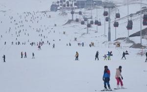 Kış turizminin parlayan yıldızı Erciyes
