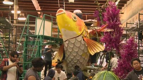 Kaliforniyada yüzbinlerce kişi çiçek festivalinde buluştu