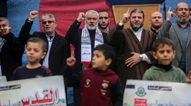 Hamasın Siyasi Büro Başkanı Heniyyeden intifadanın etkinleştirilmesi çağrısı