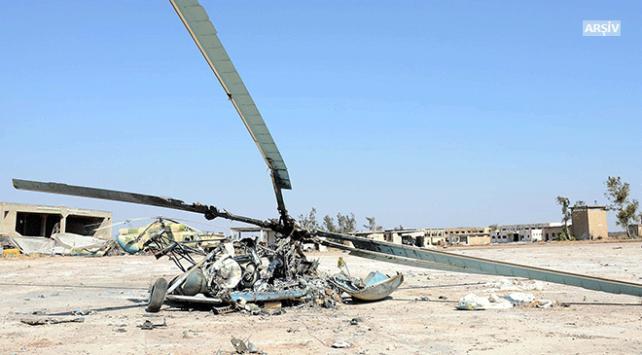 Rus helikopteri Suriyede düştü