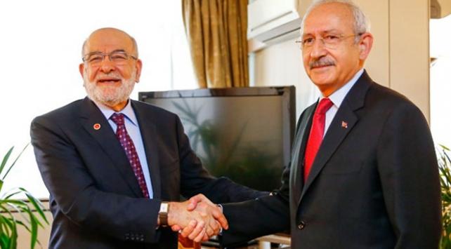 CHP Genel Başkanı Kemal Kılıçdaroğlu, SP Genel Başkanı Temel Karamollaoğlu ile görüşecek