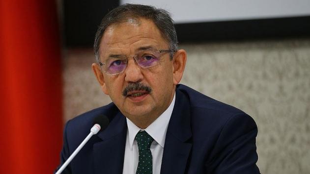 Çevre ve Şehircilik Bakanı Mehmet Özhaseki: Kentsel dönüşüme 5 milyar lira ayırdık