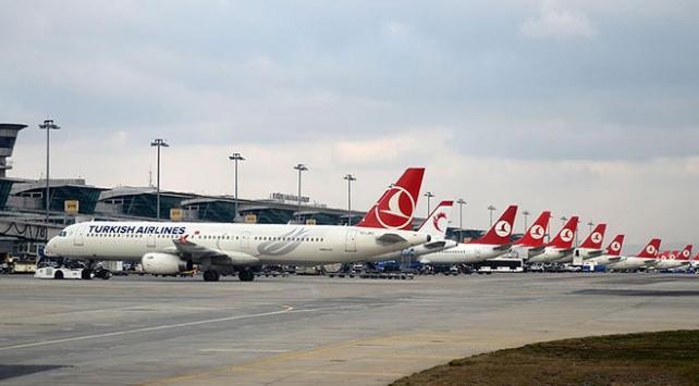 Türk Hava Yolları 2017de 68,6 milyon yolcu taşıdı