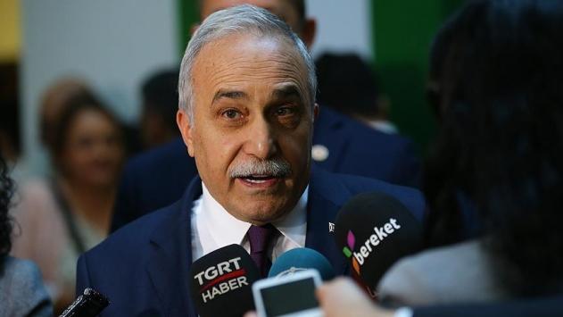 Gıda, Tarım ve Hayvancılık Bakanı Ahmet Eşref Fakıbaba: İthal et, ihtiyacımızın yüzde 5i oranında