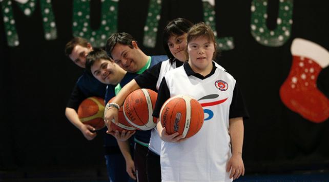 Down sendromlu gençlerin hayali Avrupada oynamak