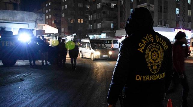Diyarbakırda hava destekli asayiş uygulaması