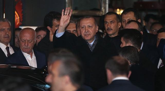 Cumhurbaşkanı Recep Tayyip Erdoğan İstanbulda bir çorbacıya misafir oldu