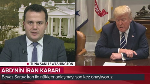 Trumpın İran kararının ayrıntılarını TRT muhabiri Tuna Şanlı aktardı