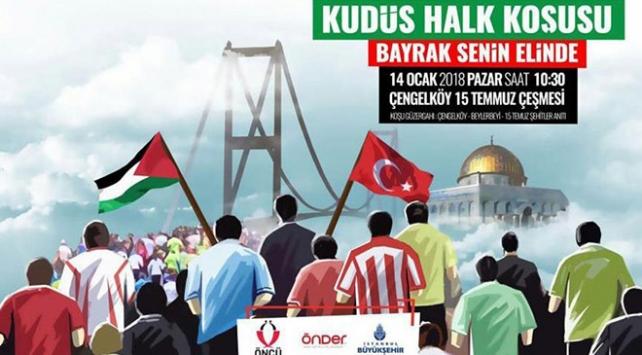 Kudüs Halk Koşusu yarın İstanbulda yapılacak