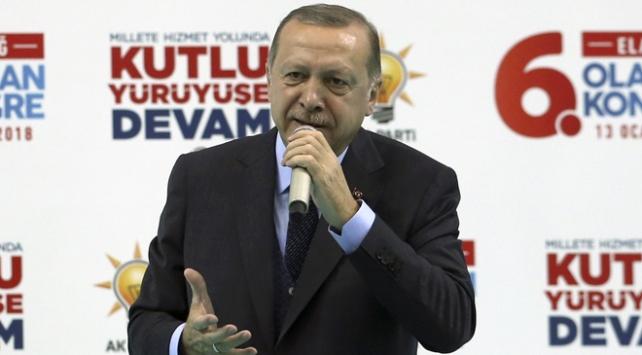 Cumhurbaşkanı Recep Tayyip Erdoğan: Ordu kurduklarını sandıkları çapulcuları darmadağın edeceğimizi görecekler
