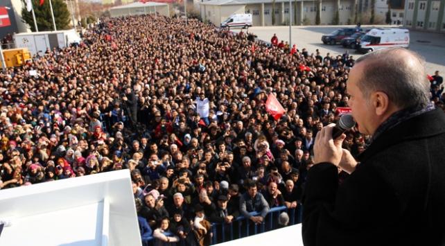 Cumhurbaşkanı Recep Tayyip Erdoğan: Bugüne kadar hiçbir gücün önünde eğilmedik