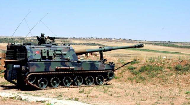 TSK, Afrin bölgesinden gelen taciz atışlarına karşılık verdi