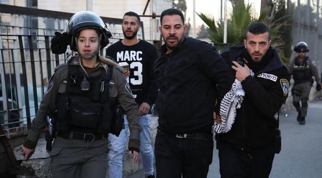 İsrail askerleri Batı Şeriadaki gösteriye müdahale etti