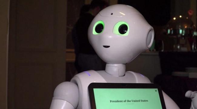 Duygusal robotlar ABDde görücüye çıktı
