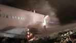 Trabzon Havalimanında uçak pistten çıktı