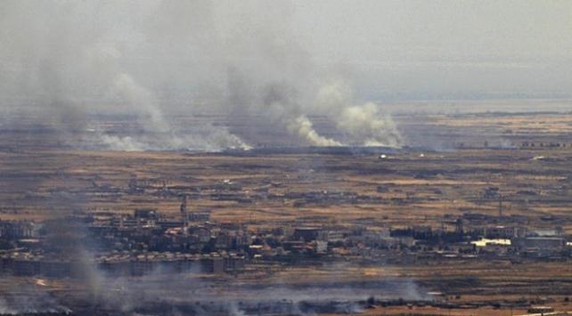 İsrail uçakları Gazze sınırında bir tüneli vurdu