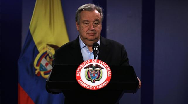 BM Genel Sekreteri Guterres: Soğuk savaş döneminden beri görmediğimiz bir nükleer tehditle karşı karşıyayız