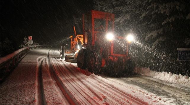 Egede yılın ilk karı yüksek kesimlere düştü