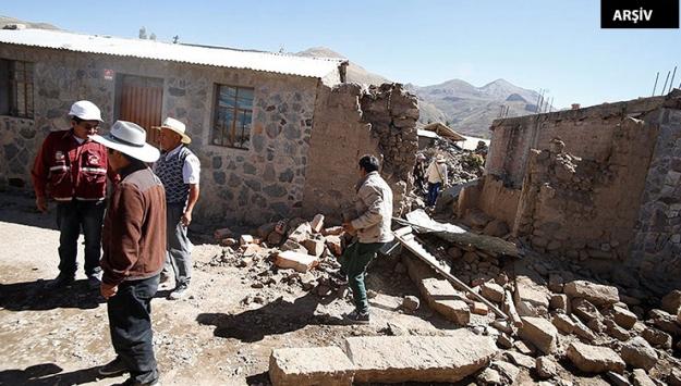 Peruda 7,3 büyüklüğünde deprem