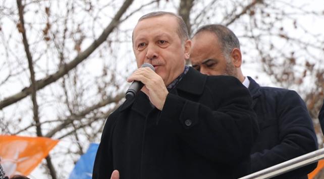 Cumhurbaşkanı Recep Tayyip Erdoğan: KİTlerin de BİTlerin de kadroları normal taşeron gibi değil