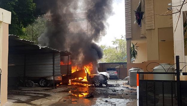 Lübnanın Sayda kentinde patlama