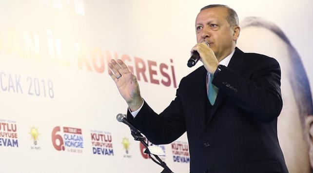 Cumhurbaşkanı Recep Tayyip Erdoğan: Nereye girerseniz girin sizi bulacağız, yargıya teslim edeceğiz