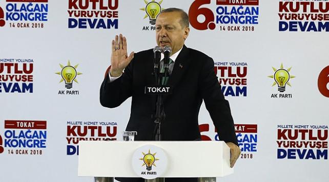 Cumhurbaşkanı Recep Tayyip Erdoğan: Terörden arındırma operasyonunu Afrinle devam ettireceğiz