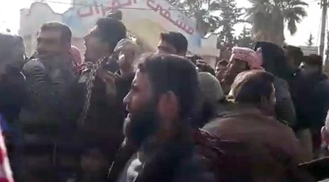 Münbiçte sivilleri katleden terör örgütü PYDye öfke büyüyor
