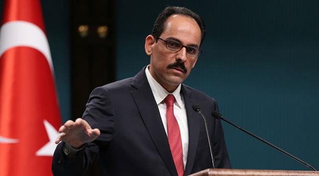 Cumhurbaşkanlığı Sözcüsü İbrahim Kalın: Terör örgütlerine karşı her türlü müdahale hakkı mahfuzdur