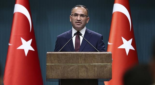 Başbakan Yardımcısı Bekir Bozdağ: ABD'nin sözde terör ordusu kurdurması, ateşle oynamaktır