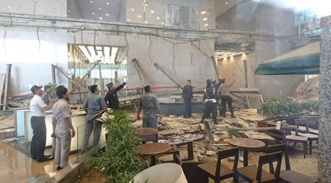 Cakartada borsa binasında tavan çöktü