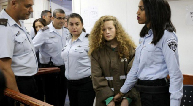 Filistinin cesur kızı Temimi bugün hakim karşısına çıkıyor