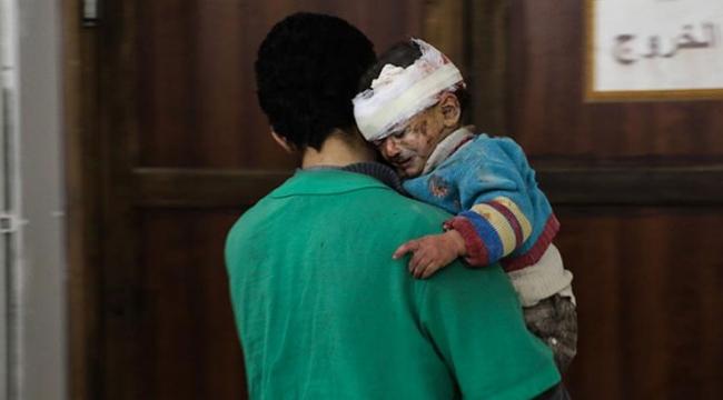 Doğu Gutada 14 günde 30dan fazla çocuk öldü