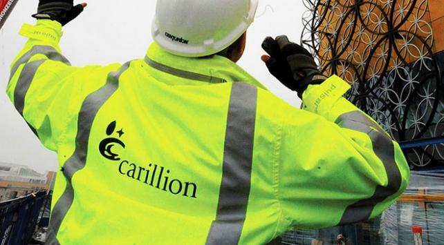 İngilterenin inşaat devi Carillion iflas etti