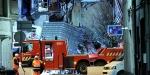 Belçikada patlama sonucu bina yıkıldı: 2 ölü, 14 yaralı