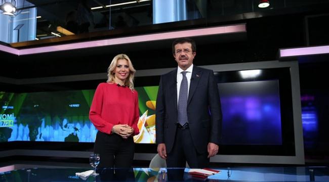 Ekonomi Bakanı Nihat Zeybekci: Üretime ve ihracata dayalı büyümeyi başardık