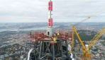 Çamlıca Kulesi bittiğinde Eyfelden daha yüksek olacak