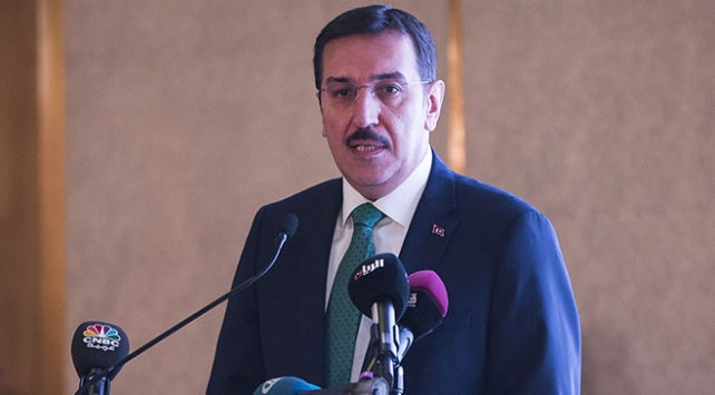 Gümrük Bakanı Bülent Tüfenkci: Katarla ticareti artırmak için çalışmaları hızlandıracağız