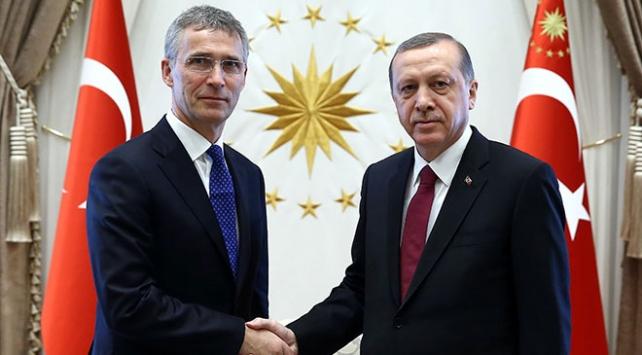 Erdoğan, NATO Genel Sekreteri Stoltenberg Telefonda Görüştü
