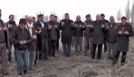 Muşta köylüler kar duasına çıktı