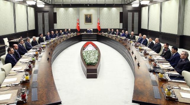 MGK ve Bakanlar Kurulu bugün Cumhurbaşkanı Recep Tayyip Erdoğanın başkanlığında toplanacak