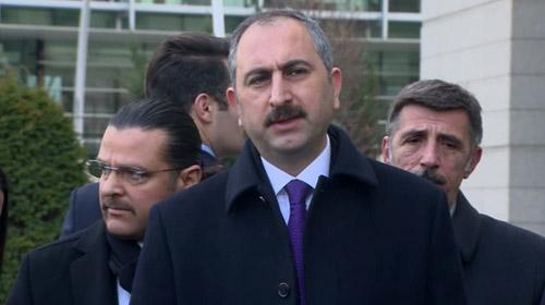 Adalet Bakanı Abdulhamit Gül: Güçlü bir demokrasi için en kısa zamanda çalışmalarımızı yapacağız