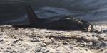 Ispartada CASA tipi askeri kargo uçağı eğitim uçuşunda düştü
