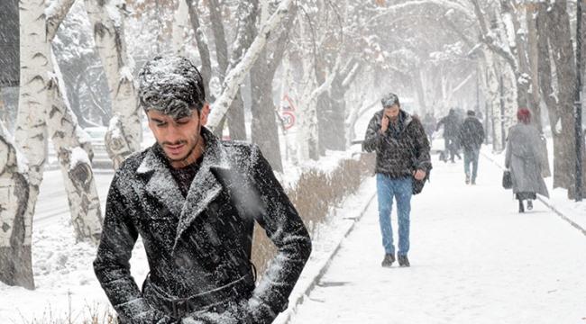 Meteorolojiden kuvvetli sağanak ve kar yağışı uyarısı