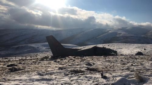 Ispartada CASA tipi askeri eğitim uçağı düştü
