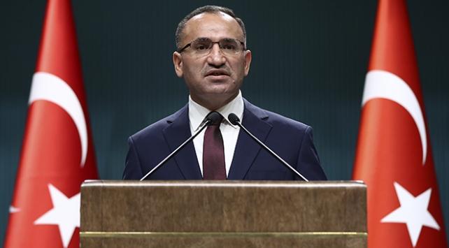 Bozdağ: Türkiye Artık Sabrının Son Noktasına Gelmiştir